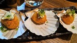 Crunchy Saint Jacques at Miyabi, photo by placescases.com