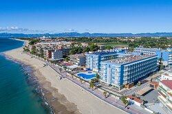 Vista aérea del hotel Augustus