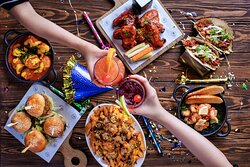 Celebrate at Stock Burger