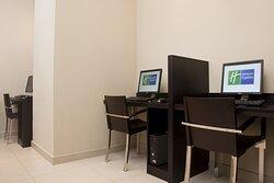 Internet, printing, binding and secretarial services
