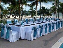 Wedding Receiption - pool