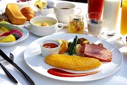 American Breakfast Set / Plated Service