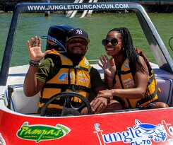 We have a super photo package for you memories of your visit to Jungle Tour Adventure in Cancun