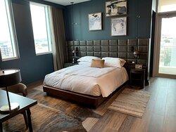 Bedroom area - Comfy bed