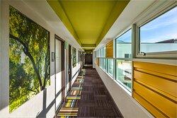 Hotel Indigo Anaheim features agricultural murals