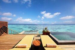 Overwater Pool Suite Terrace