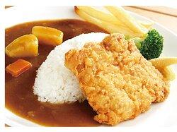 特製咖哩雞排餐