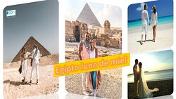 Te diviertes de Egipto luna de miel con All Tours Egypt y haces tu luna de miel en Egipto. Y vas a organizar tu boda en estilo egipcio, nubio, estilo copto o estilo faraónico. También vas a visitar las Pirámides de Guiza, el Museo Egipcio y crucero por el Nilo entre Luxor y Aswan. Además vas a visitar los antiguos templos en Egipto y vas a sacar fotos inolvidables durante tu Egipto luna de miel.