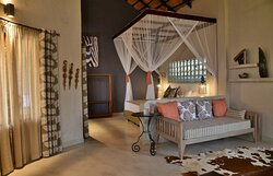 Inside Picture of one of the Suites at Kariba Safari Lodge