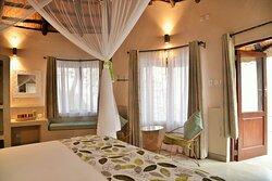 Inside the room at Kariba Safari Lodge