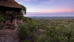 Picture of outside the suites at Shashani Lodge