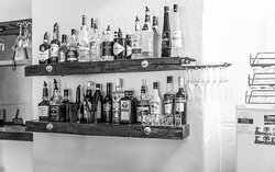 Selection of spirits available