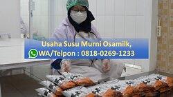 Usaha Susu Murni Osamilk, WA/Telpon : 0818-0269-1233