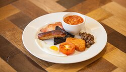 Create your own Full English from our hot station