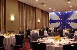 Our Banquet Room can accommodate 60 guests