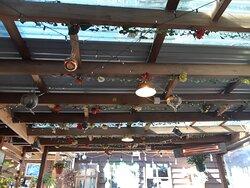 Roof brick-a-brack decorations