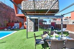 Jardín  Villa Green 8 Salobre Resort