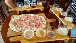 Assaggi di birre e focacce