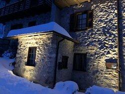 Inverno al Ristorante La Casina