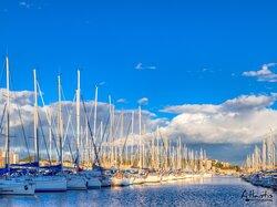 Le port de l'Amirauté - Ajaccio
