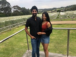 We love having Mornington Peninsula locals on our wine tours as well as when we hosted local doctors Kavinder and Sanam recently.