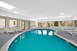 Take a dip in our indoor heated pool