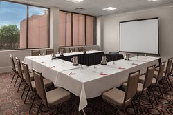 Host a business meeting during your stay at our Dallas hotel.