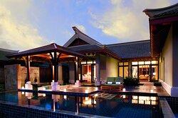 Two Bedroom Ocean Front Villa