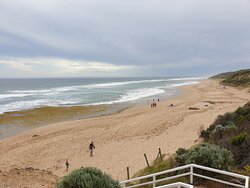 Beach at Point Lonsdale, near lighthouse