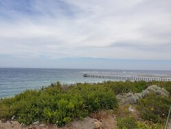 Looking Towards the Rip Jetty