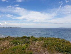 Looking into Port Phillip Bay