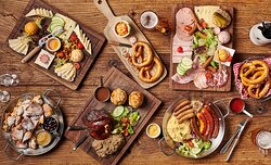 Delicious German food to share