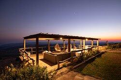Sky Lodge sunset Deck