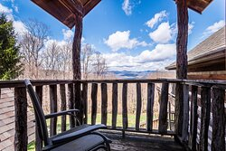 View from private balcony  Photo credit: @NelsonStegallPhotography