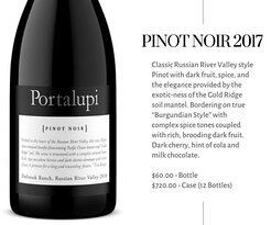 Not your typical light bodied Pinot!