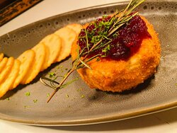 Crumbed Brie