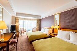 デラックスツインルーム/Deluxe Twin Bed Room