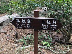 Lai Chi Wo Nature Trail - trail signs