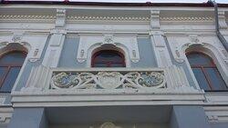 Балкон особняка Шихобаловых восстановили в ходе реставрации фасада здания.