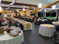 Wedding setting in Haus Win Restaurant