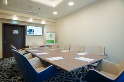Cozy Ulpia Board Room is the perfect place for meetings