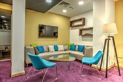 Be comfortable and yourself at the Pop-up lounge
