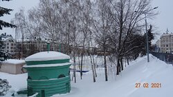 Казань, парк «Чёрное озеро». 27.02.2021