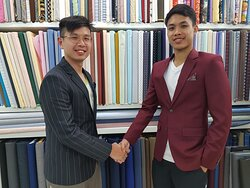 BESPOKE SUIT TELL YOUR WHO YOUR SO GET YOUR GENTLEMENT SUIT FROM SUIT FITTER PHUKET