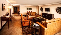 Interior view of lounge in Avani Presidential Suite