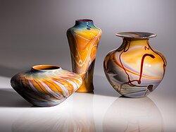 Calcedony Vases