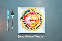 German Banana Pancake
