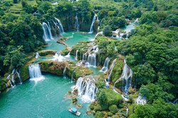 The sparkling beauty of Ban Gioc Waterfall