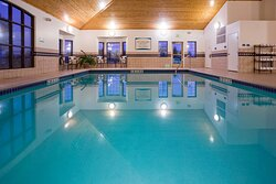 Take a splash in our beautiful, heated pool off the guest patio.