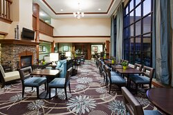 Complimentary Hot Breakfast Buffet daily and evening Social M-W